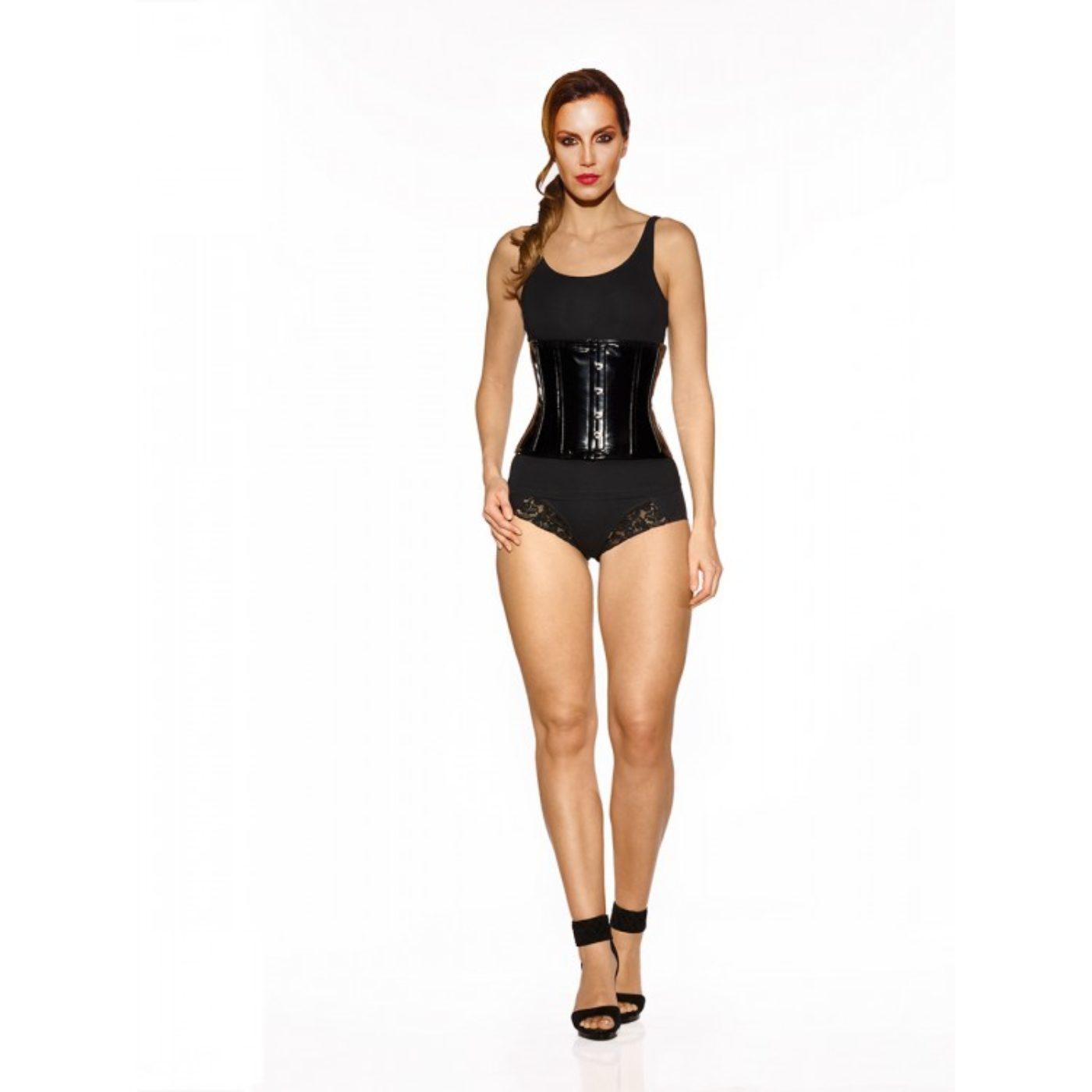 Fever - PVC underbust corset