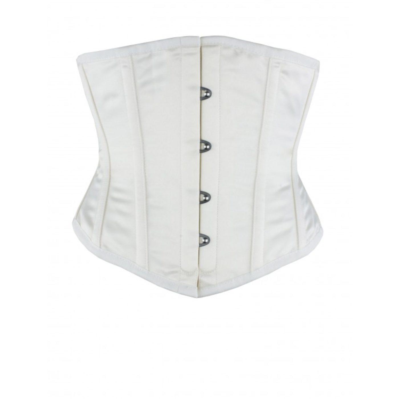 Ivory Satin Underbust wedding corset
