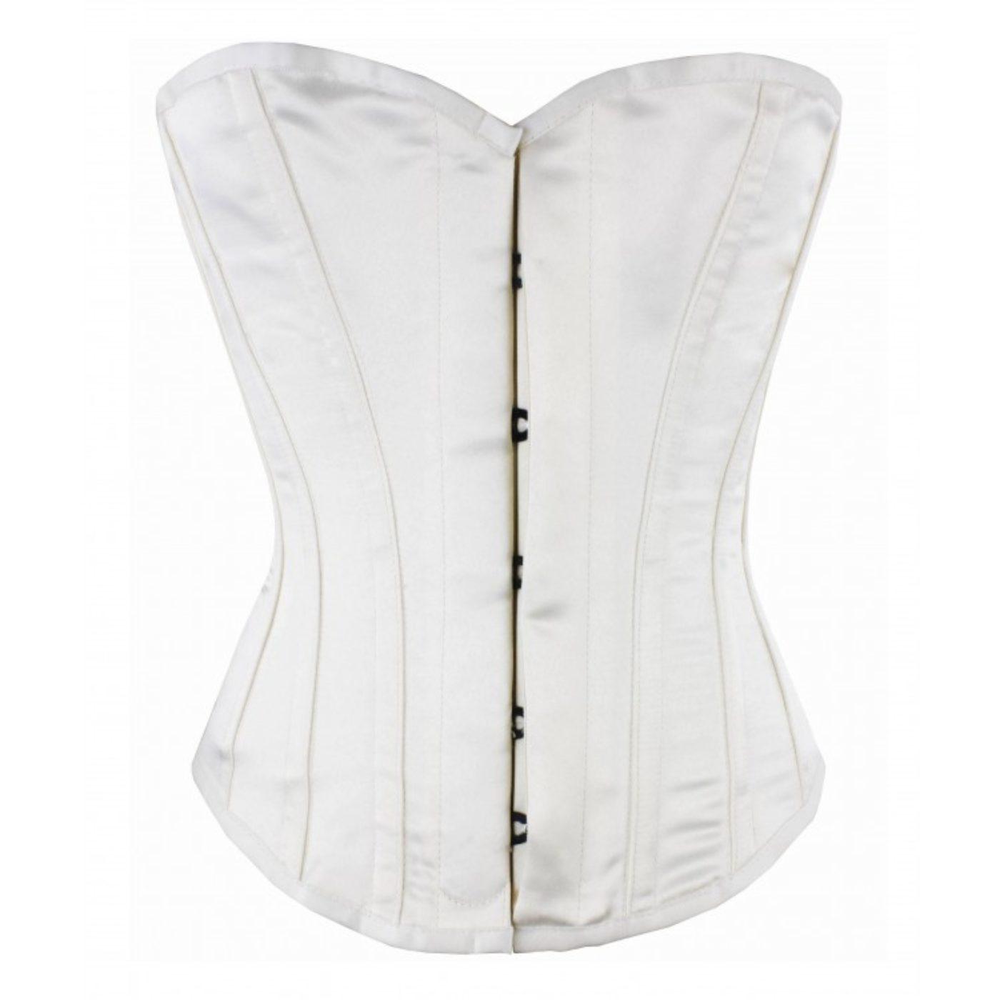 Wedding corset voller steel boned made in England